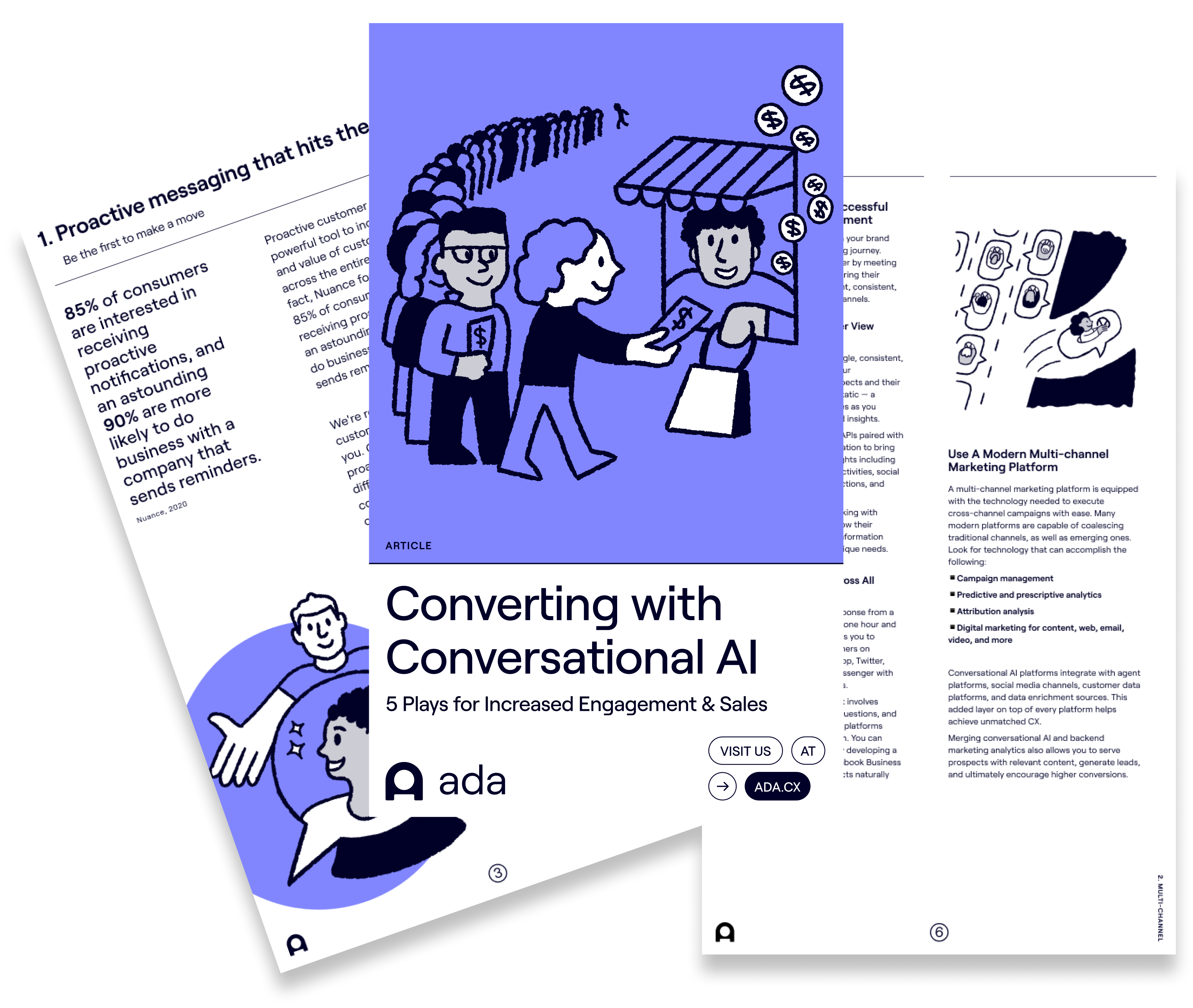 Converting with Conversational AI